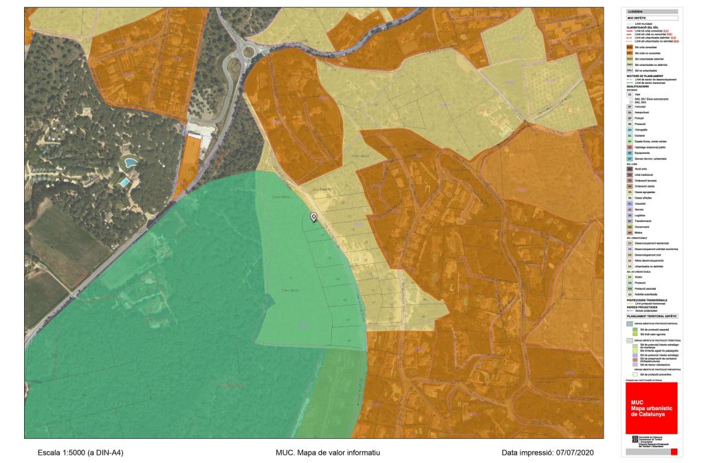 Mapa Montcal